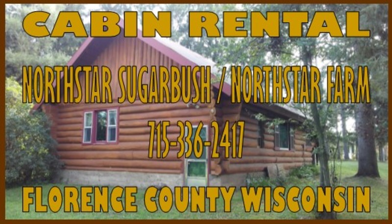 CABIN RENTAL - Florence County Wisconsin